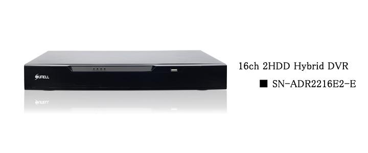 SUNELL製 16ch DVR top画像