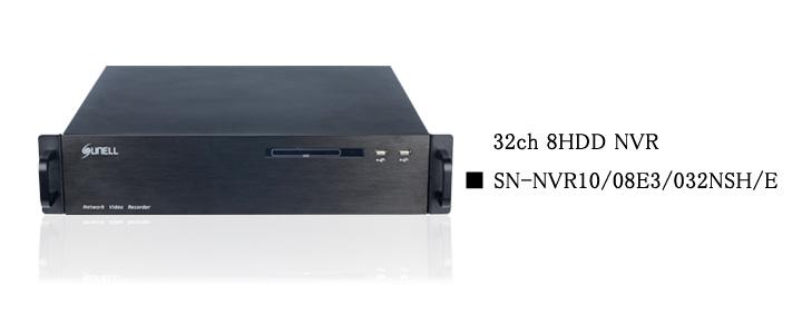 SUNELL製 32ch NVR top画像