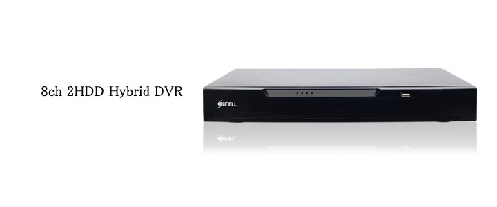 SUNELL製 8ch DVR top画像