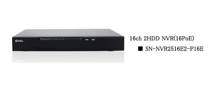 SUNELL製 16ch NVR top画像
